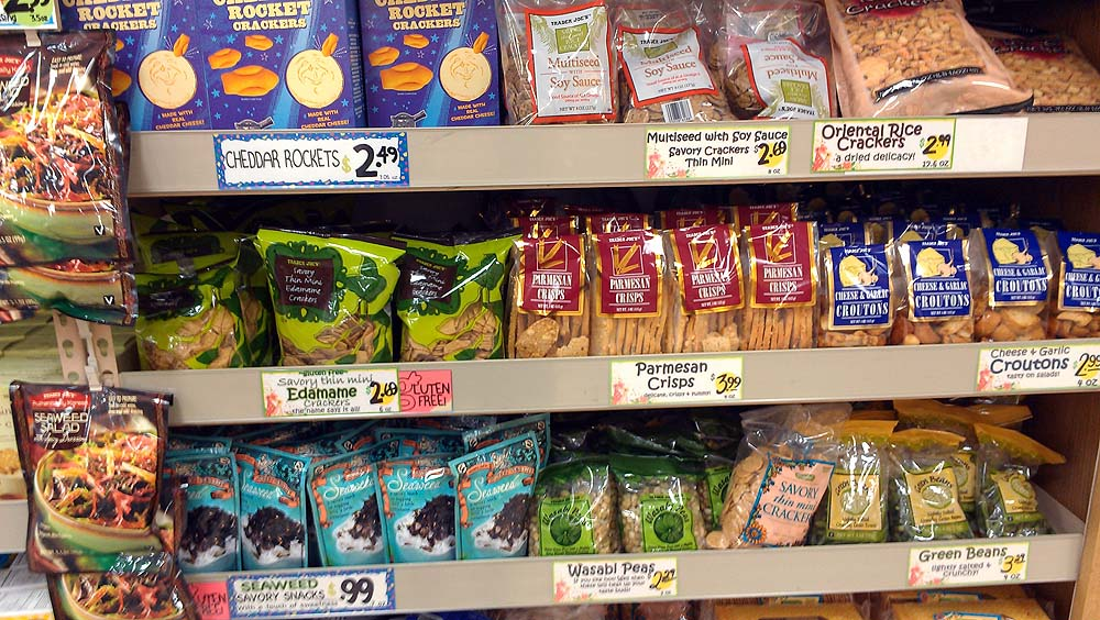Healthy options at trader joe's