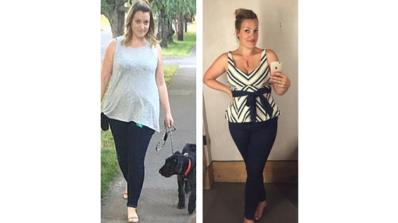 Member of the week: Sarah lost 15 lbs in 9 weeks