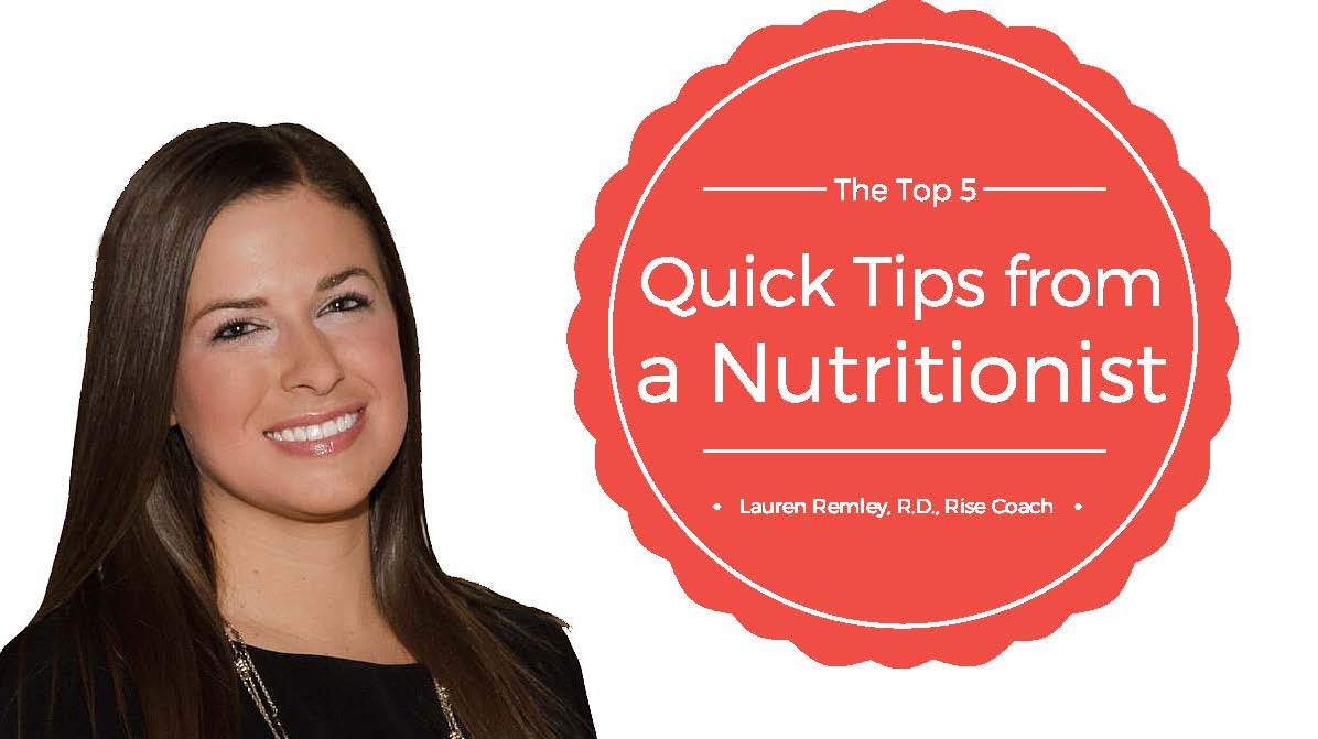 nutrition tips
