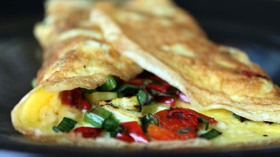 Easy Breakfast Recipe: Garden Veggie Omelet
